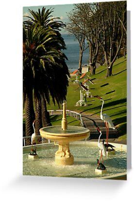 Fountain,Eastern Beach by Joe Mortelliti