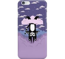 Cloud Games- Batcat Hangin' in a Raincloud iPhone Case/Skin