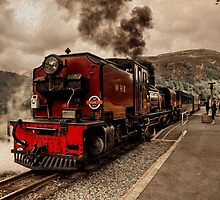 Steaming in the Welsh Highlands  by Rob Hawkins