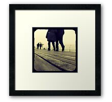 Lover's Walk Framed Print