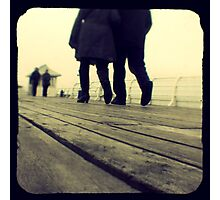 Lover's Walk Photographic Print