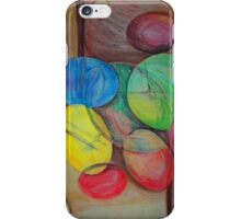 Colorful abstract modern art iPhone Case/Skin