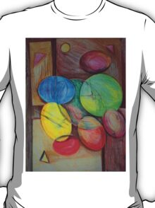 Colorful abstract modern art T-Shirt