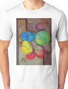 Colorful abstract modern art Unisex T-Shirt
