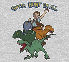 Gotta Hunt Em All One Piece - Short Sleeve
