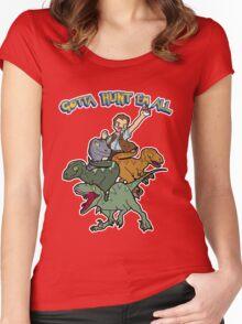 Gotta Hunt Em All Women's Fitted Scoop T-Shirt
