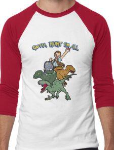 Gotta Hunt Em All Men's Baseball ¾ T-Shirt