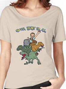 Gotta Hunt Em All Women's Relaxed Fit T-Shirt