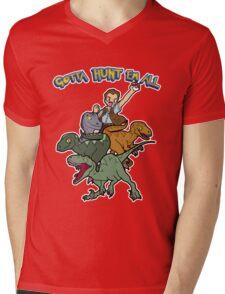 Gotta Hunt Em All Mens V-Neck T-Shirt