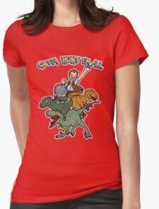 Gotta Hunt Em All Womens Fitted T-Shirt