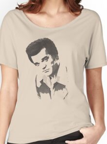 Conway Twitty Halftone Women's Relaxed Fit T-Shirt