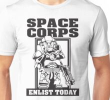 SPACE CORPS - ENLIST TODAY! Unisex T-Shirt