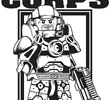 SPACE CORPS - ENLIST TODAY! by cuboidcorp