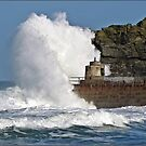""""""" 4 hours after High Tide & it's still rough"""" by mrcoradour"""