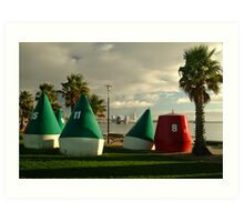 Geelong Water Front Art Print