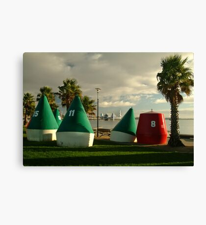 Geelong Water Front Canvas Print