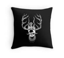 Little Monster Throw Pillow