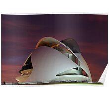 Palau De Les Arts -CAC- Valencia Poster