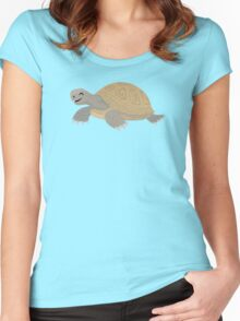 Happy Tortoise Women's Fitted Scoop T-Shirt