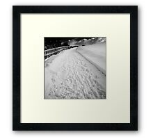 the only way is up Framed Print