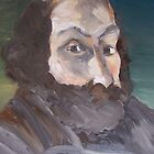 Portrait of Cezanne by Ongie