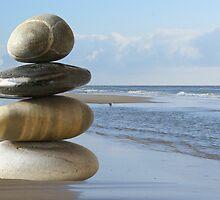 Zen beach by CanDuCreations