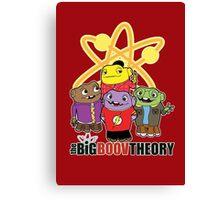 Big Boov Theory Canvas Print