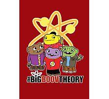 Big Boov Theory Photographic Print