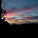 Sunset at Inman Valley, South Australia by BronReid