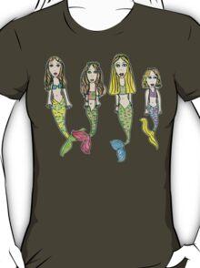 Tane's Drawing of My Girls as Mermaids T-Shirt