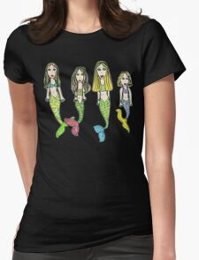 Tane's Drawing of My Girls as Mermaids T-Shirt