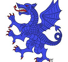 Blue Dragon by Richard Fay