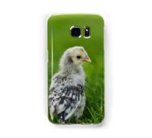 Baby Chick - Appenzeller Spitzhauben Silver Spangled  Samsung Galaxy Case/Skin