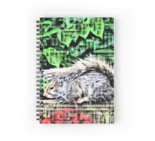 Mohican Squirrel Spiral Notebook