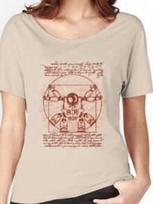 Vitruvian ribbon Women's Relaxed Fit T-Shirt