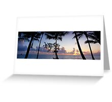 Palm Cove Sunrise - Cairns, Nth. Queensland Greeting Card