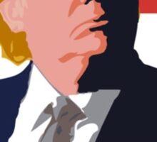 We Shall Overcomb Donald Trump 2016 Sticker