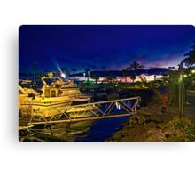 Evening Harbour~ Canvas Print