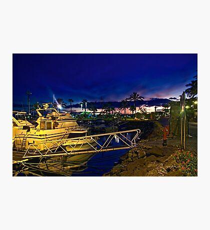 Evening Harbour~ Photographic Print