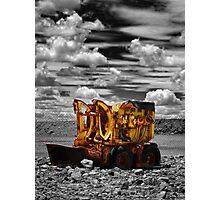 Retired worker - Broken Hill N.S.W. Photographic Print