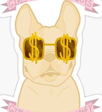 Dogs & Cash Sticker