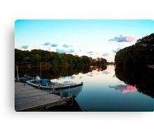 Ideal Dockage Canvas Print