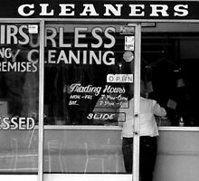 Dry Cleaners by Philip Werner