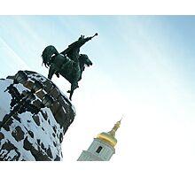 Kiev - Bogdan Khmelnitskiy - 2 Photographic Print