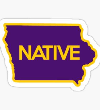 Iowa Native Sticker  Sticker
