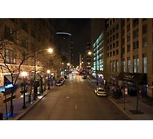 East Illinois St. Photographic Print