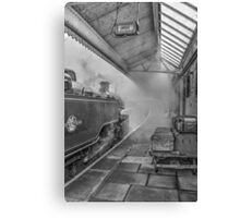 The Train Now Leaving ... Canvas Print