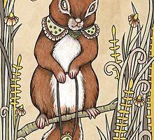 Squirrel by Anita Inverarity