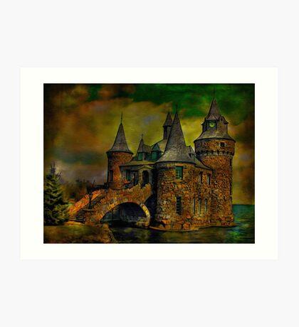 ...castle Art Print