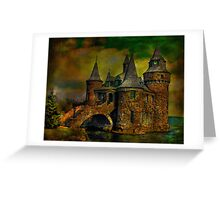 ...castle Greeting Card